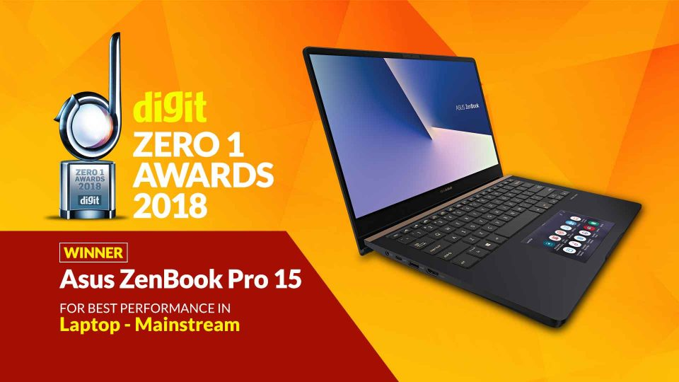 Zero1 Awards Mainstream Laptop Dec2018_Asus ZenBook Pro 15